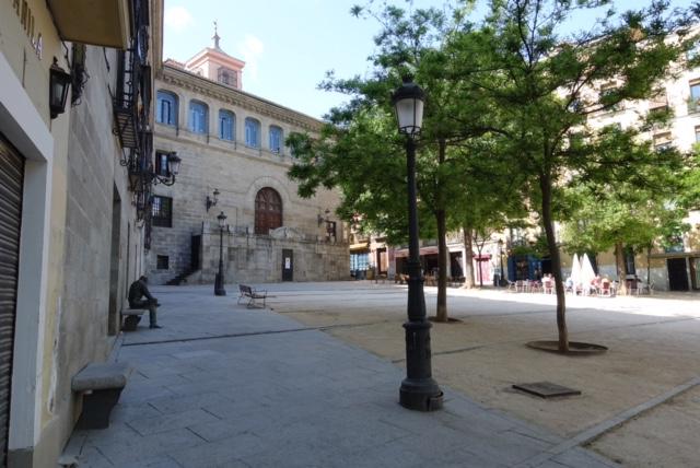 Madrid - Plaza de la Paja, casas de la malicia y Palacio Uceda ...