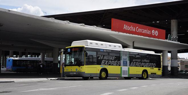 bus expres aeropuerto Madrid