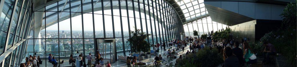 Sky Garden de Londres