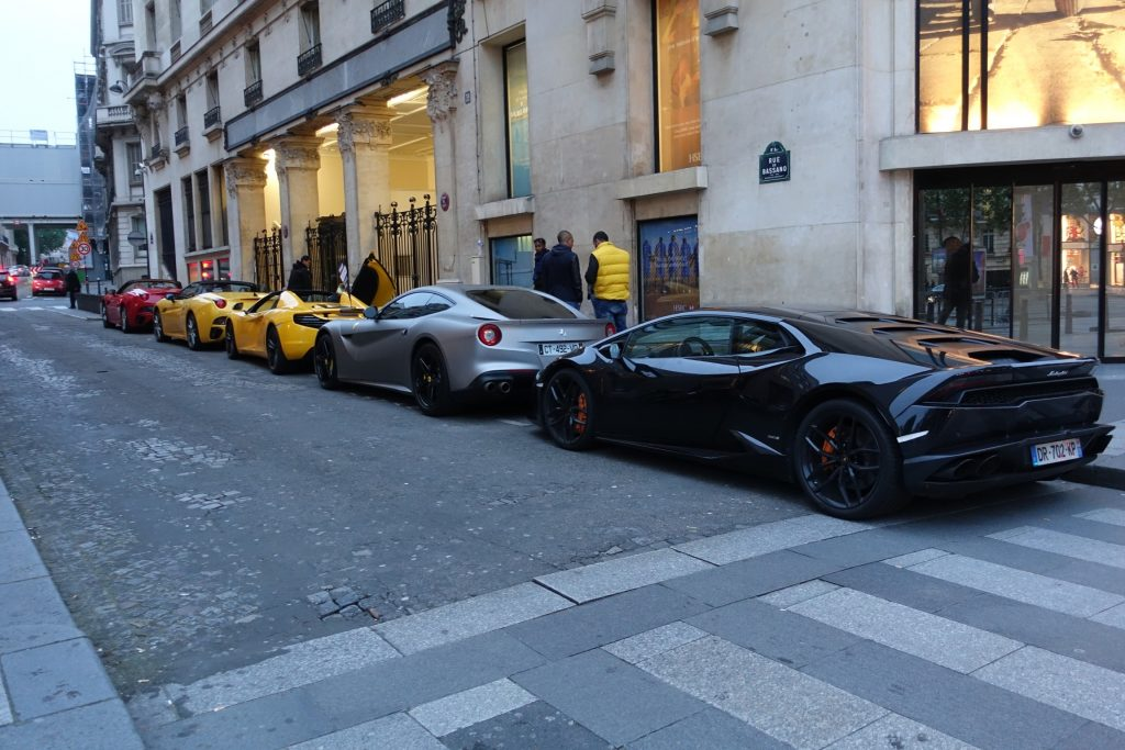 París - Auto de Lujo