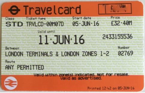 travelcard-pasaje