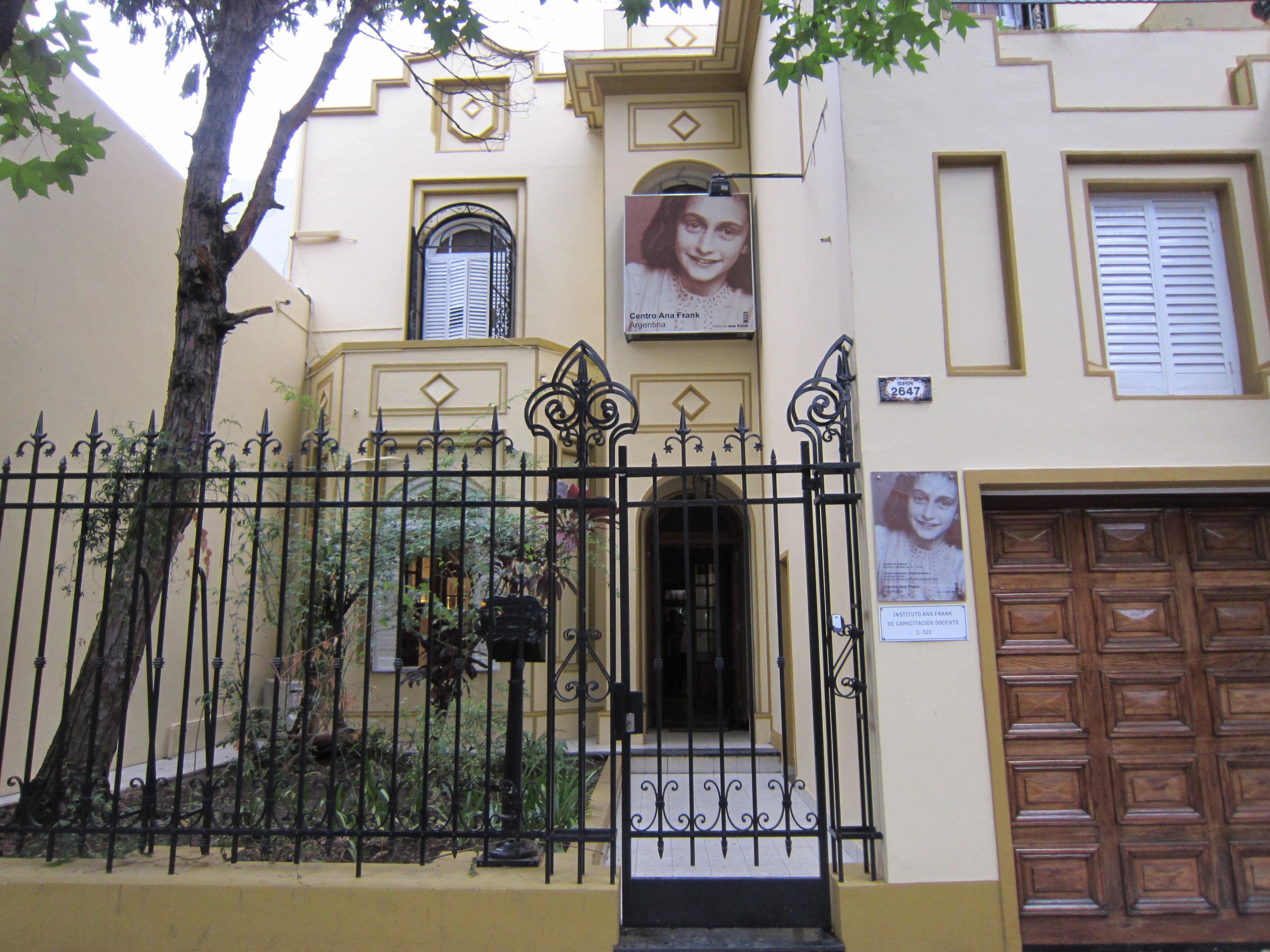 Belgrano museo de ana frank mis lugares - La casa de ana ...