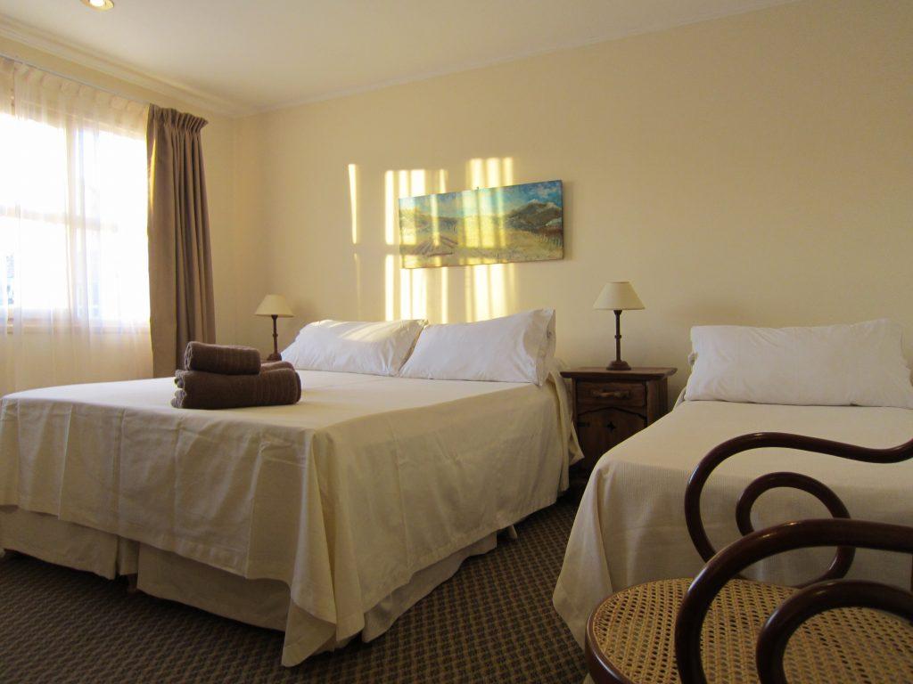Habitación doble del Hotel Altos de Suipacha