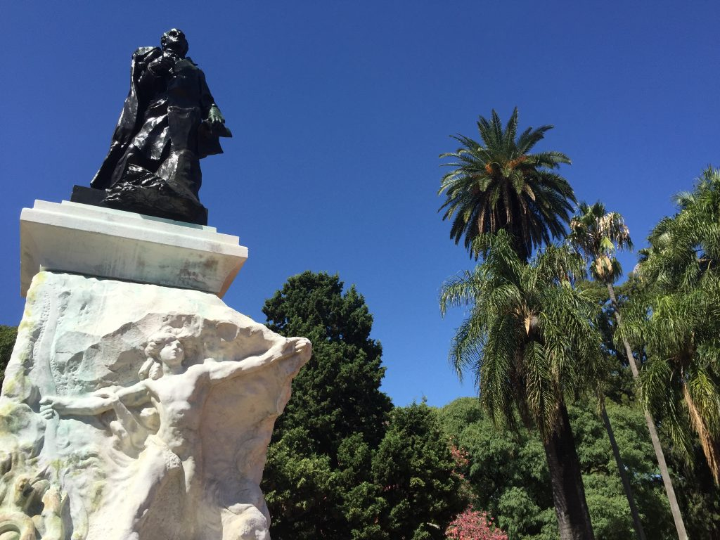 Monumento a Domingo F. Sarmiento