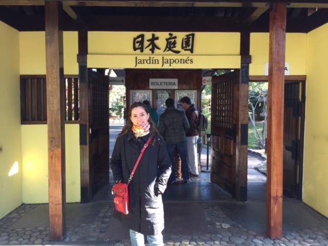 Puerta de ingreso al Jardín Japonés
