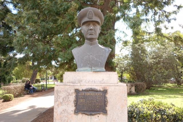 Busto Juan D. Perón