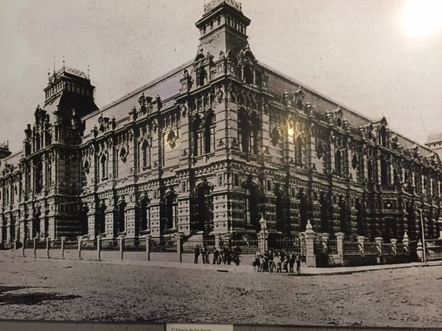 El Palacio en sus orígenes