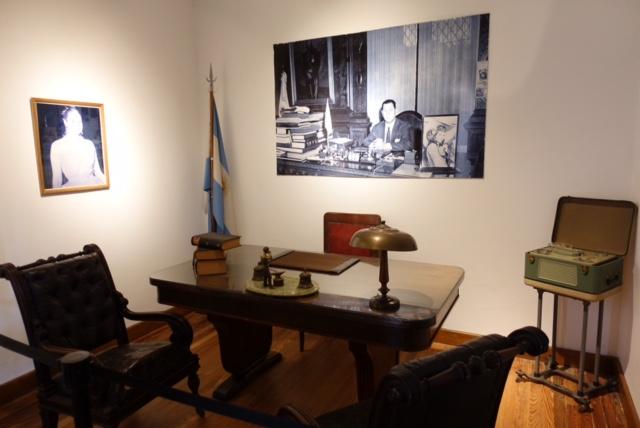 Muebles que pertenecieron a J.D.Perón