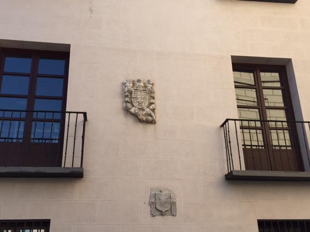 Escudos en la Casa de Ivan de Vargas