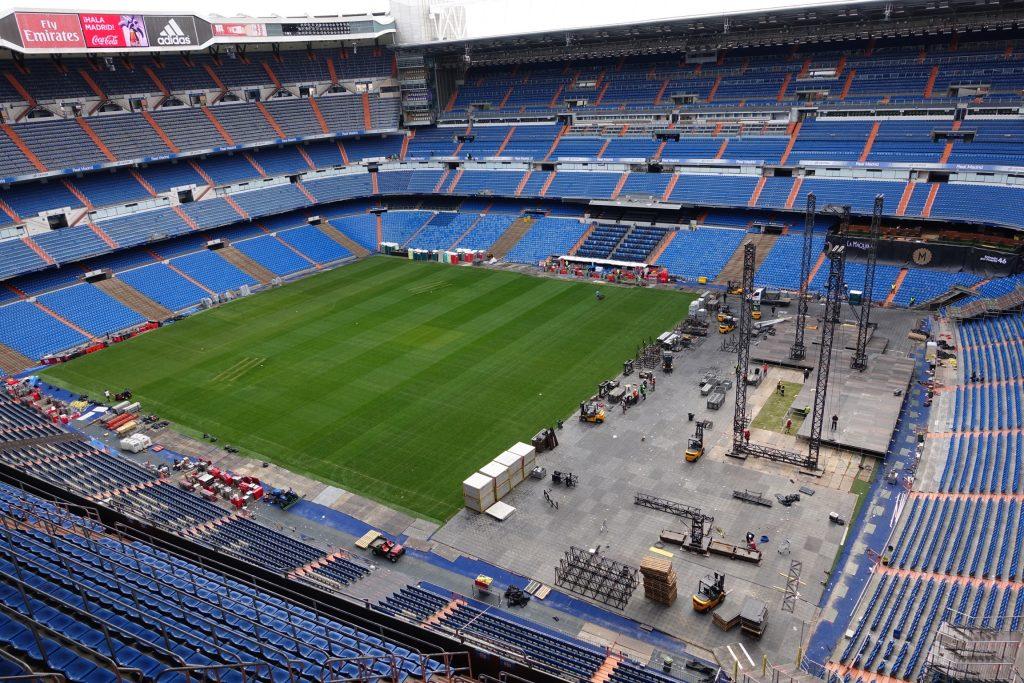 Estadio Santiago Bernabeu - Desarmado de un recital