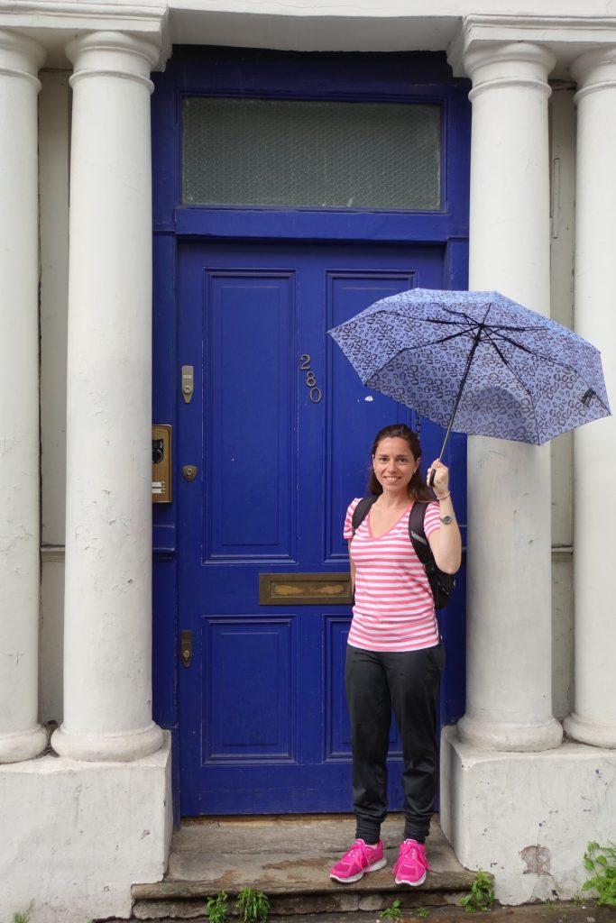 La Puerta azul de la película Notting Hill, Londres