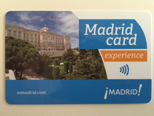 Madrid Card