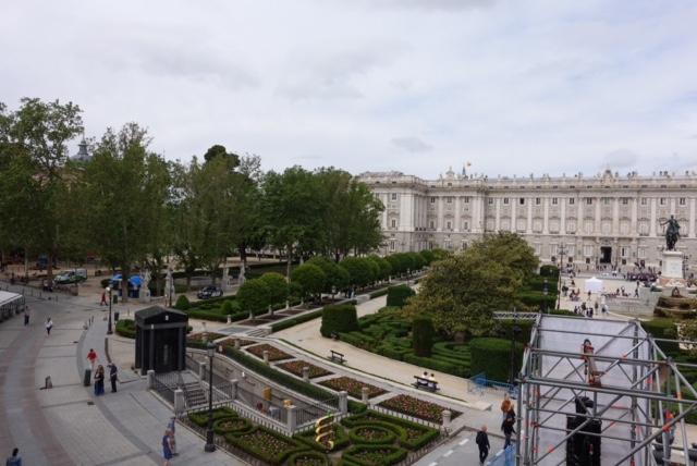 Palacio Real desde el Teatro Real