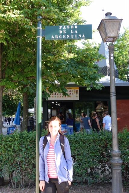 Paseo de la Argentina