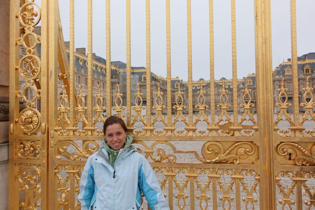 Portón del Palacio de Versalles, Francia