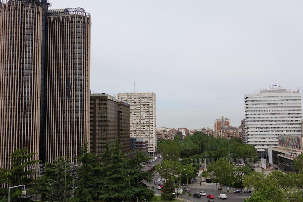 Desde el Estadio, panorámica a la Madrid moderna