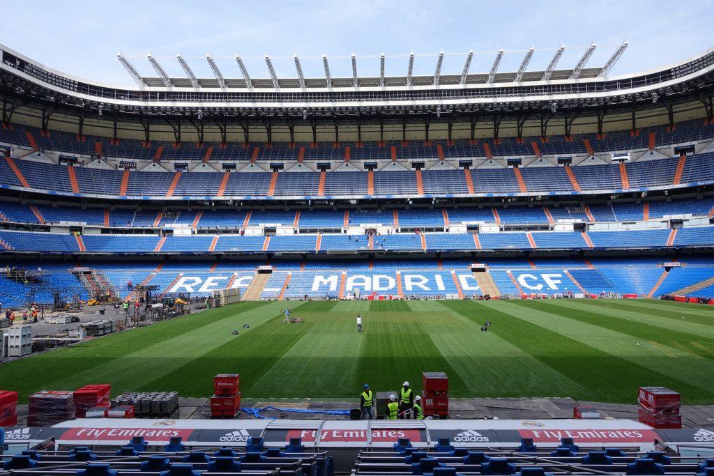 Vista al Estadio desde los palcos