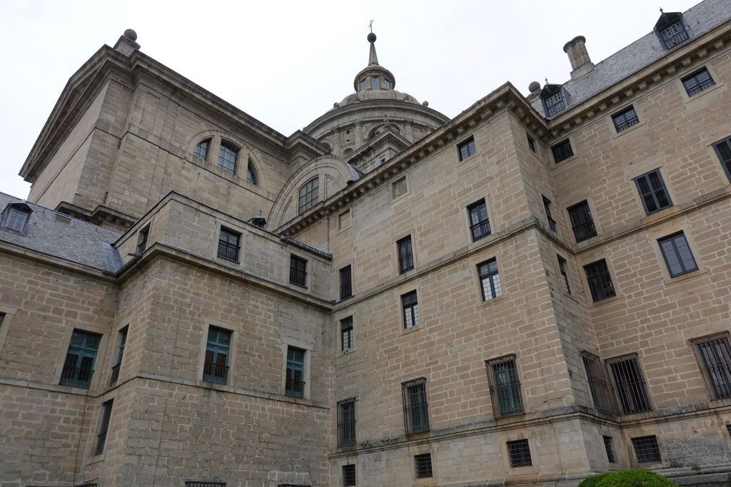 Vista al Palacio de los Austrias