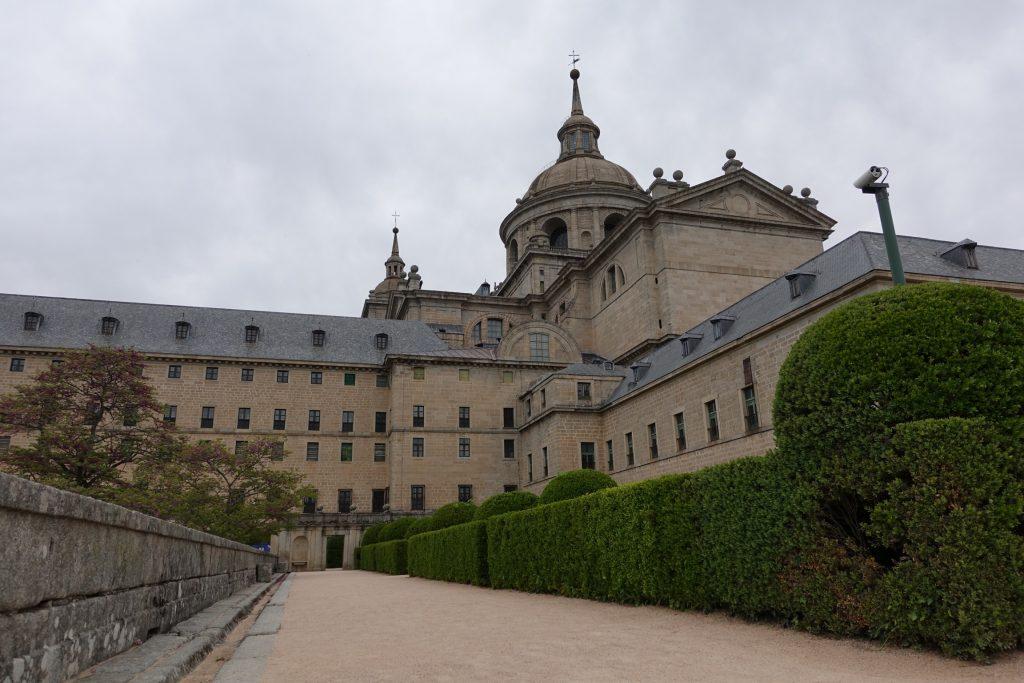 Vista al Palacio de los Borbones
