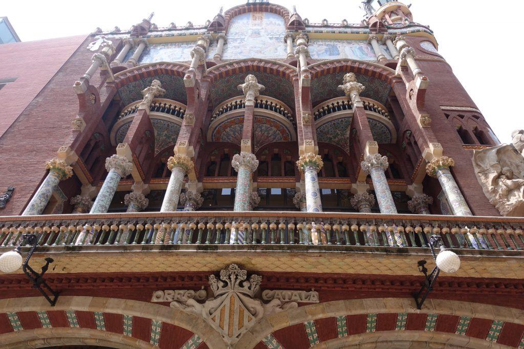 Barcelona - Palacio de la Música Catalana