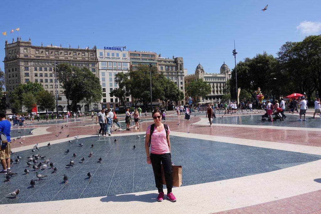 Barcelona - Plaza Cataluña