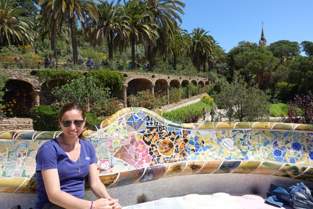 Parque Güell - Plaza de la Naturaleza