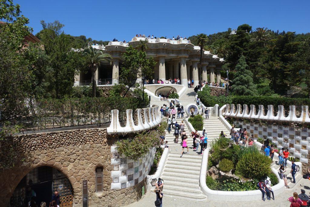 Park Güell - Escalera Monumental