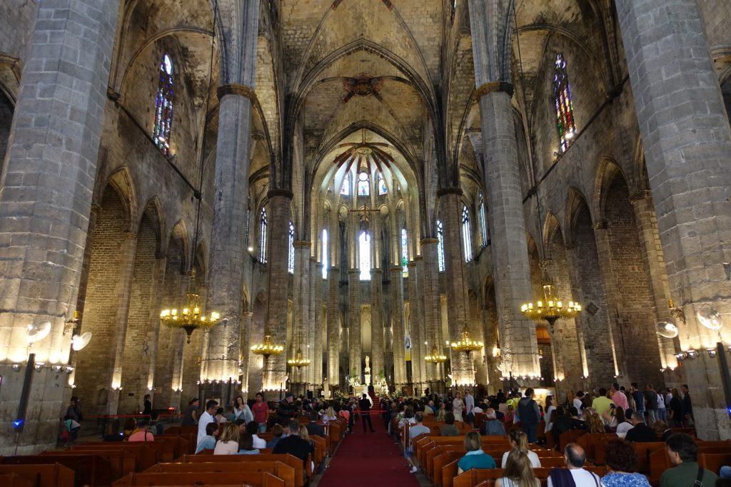 Barcelona - Basílica de Santa María del Mar