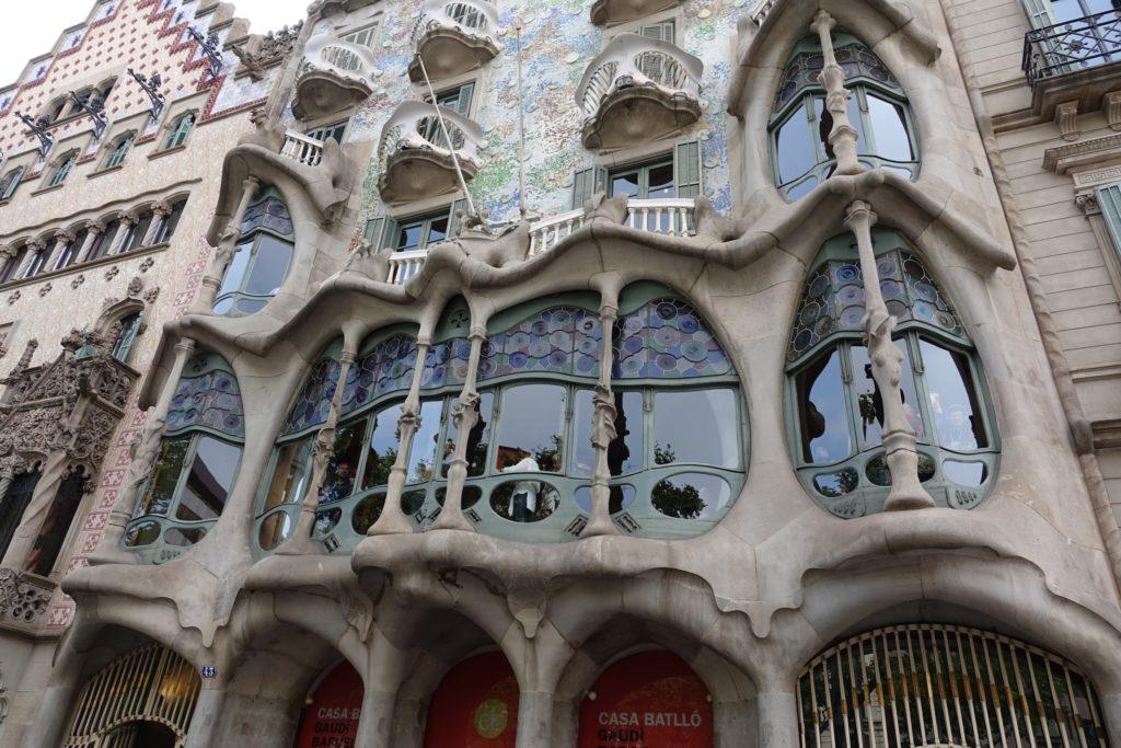 Casa Batlló de Antonio Gaudí