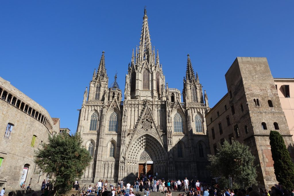 Catedral de Barcelona, Barrio Gótico