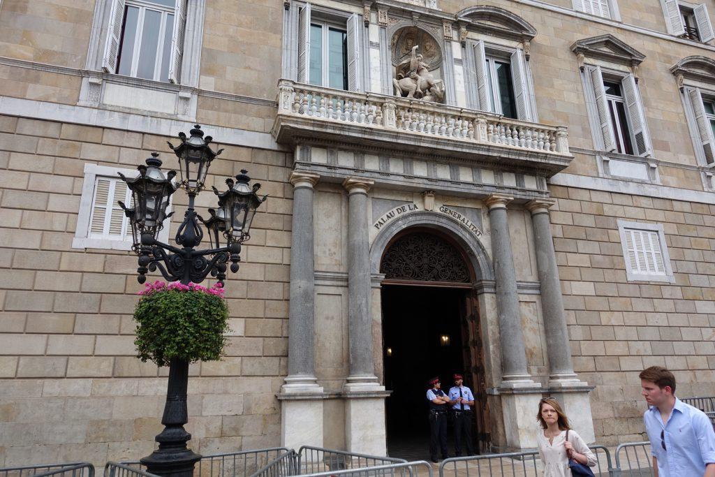 Barcelona - Palacio de la Generalidad de Cataluña