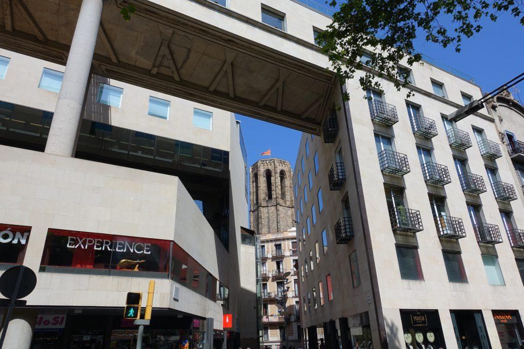 Barcelona - Santa Maria del Pi desde La Rambla