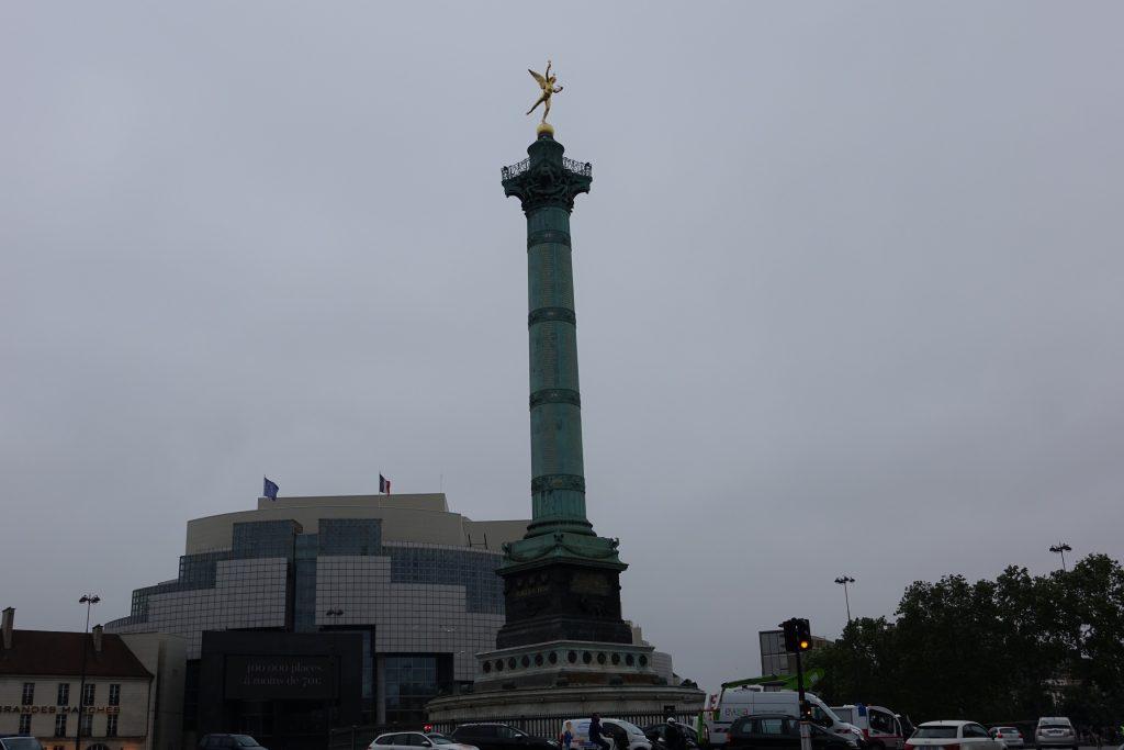 París - Plaza de la Bastilla