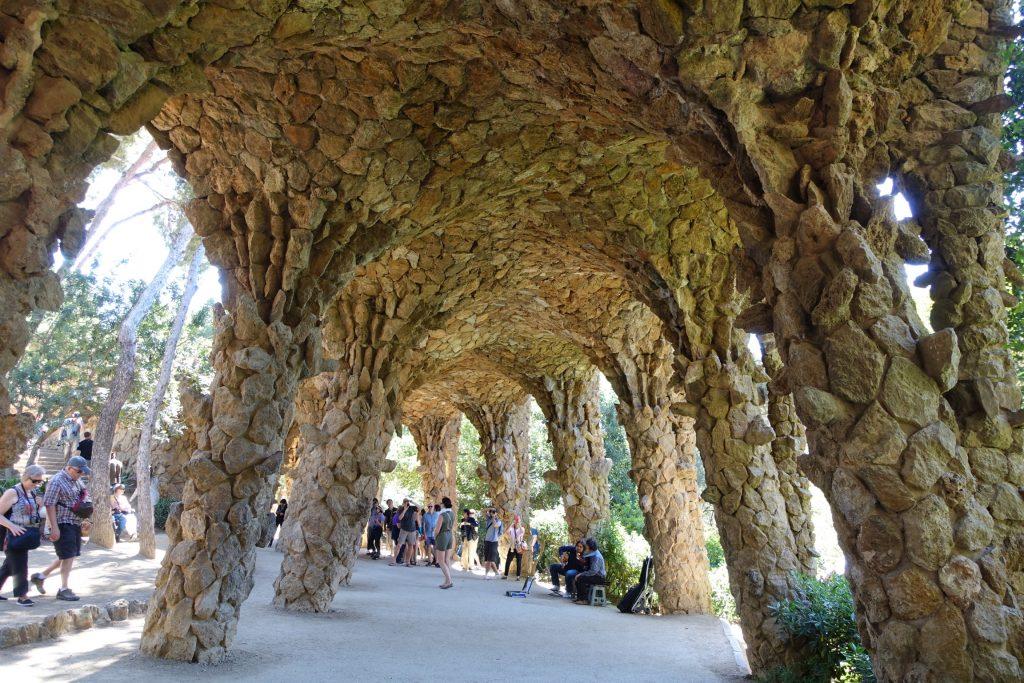 Park Güell - Pórtico de la Lavandera