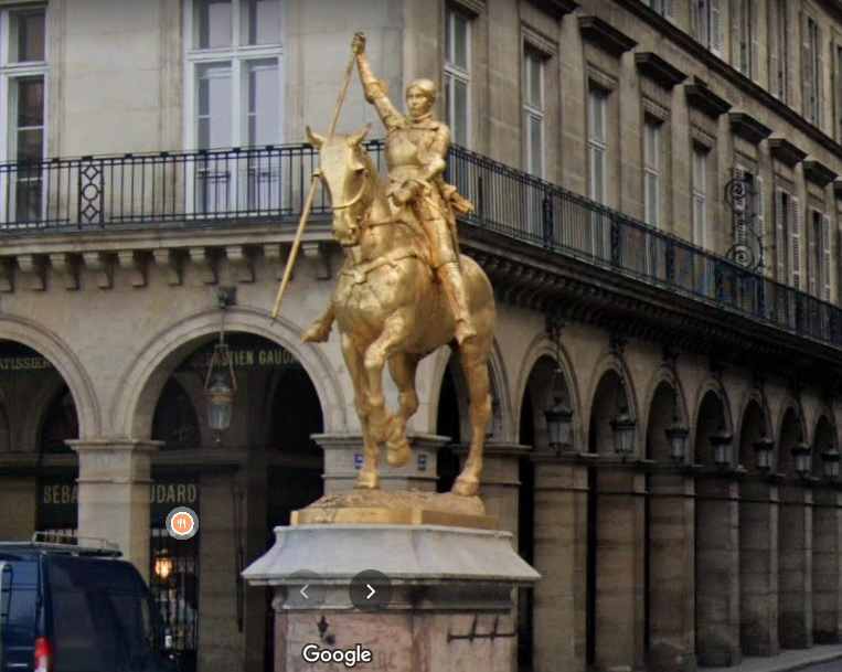 París - Estatua de Juana de Arco