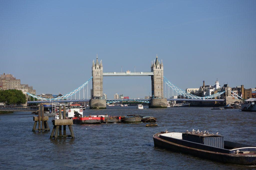 Londres - Vista a la Torre de Londres