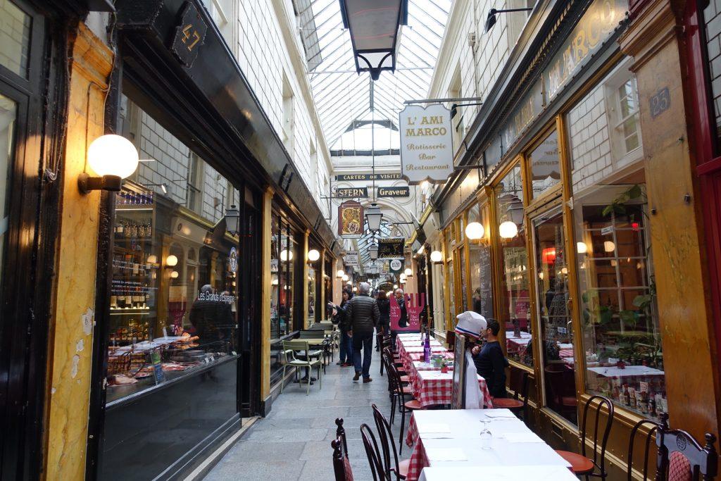 París - Pasaje Montmartre