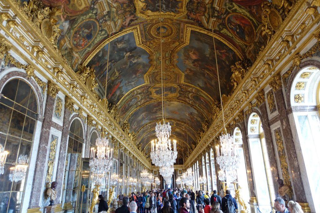 Versalles - Galería de los Espejos