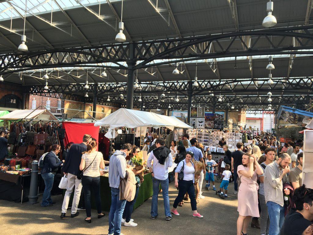 Londres - Mercado Spitafield
