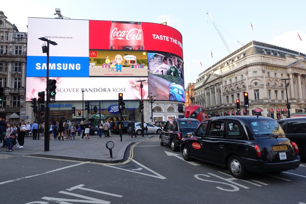 Londres - Piccadilly Circus