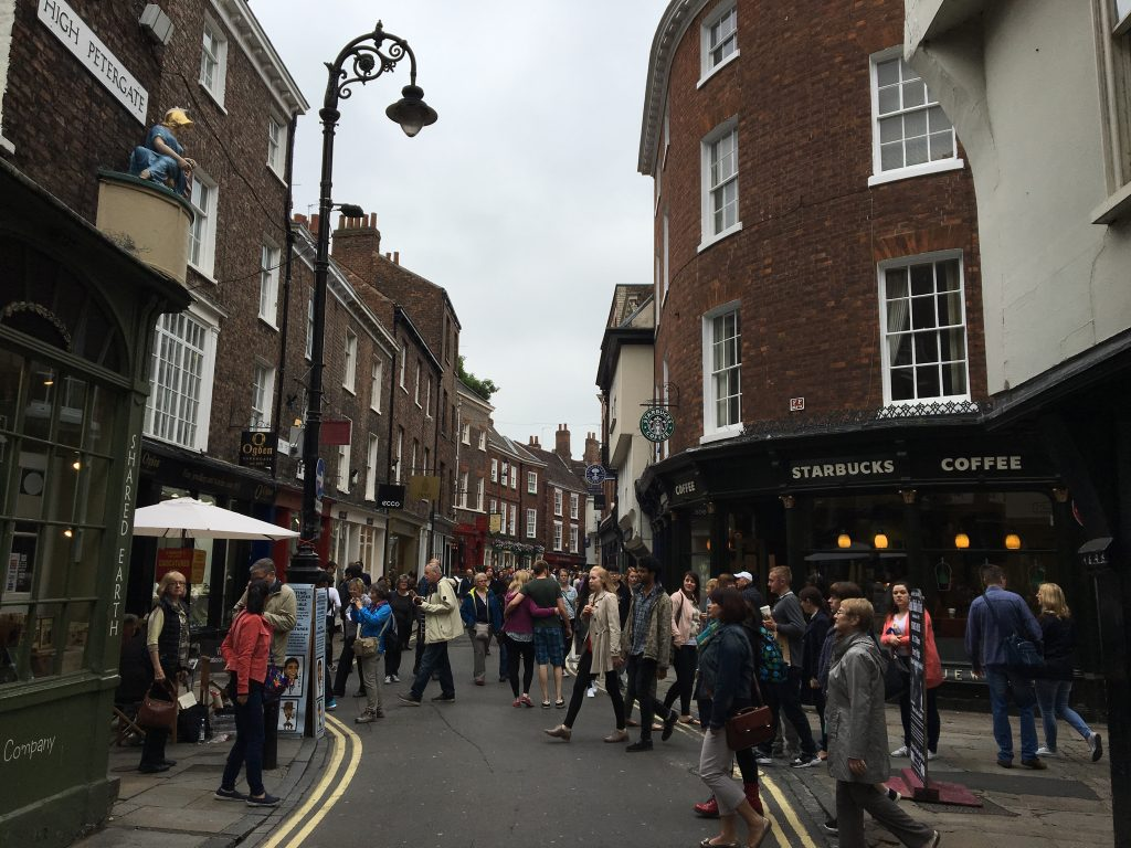Shambles, York ciudad medieval - Inglaterra