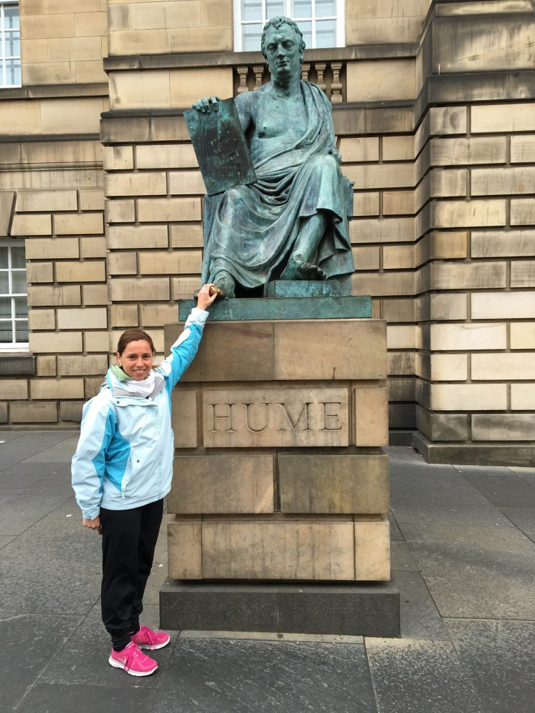 David Hume en Edimburgo