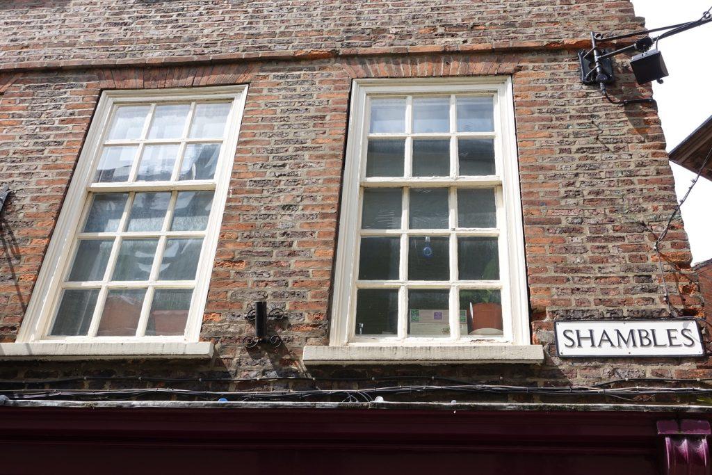 The Shambles, York ciudad medieval - Inglaterra