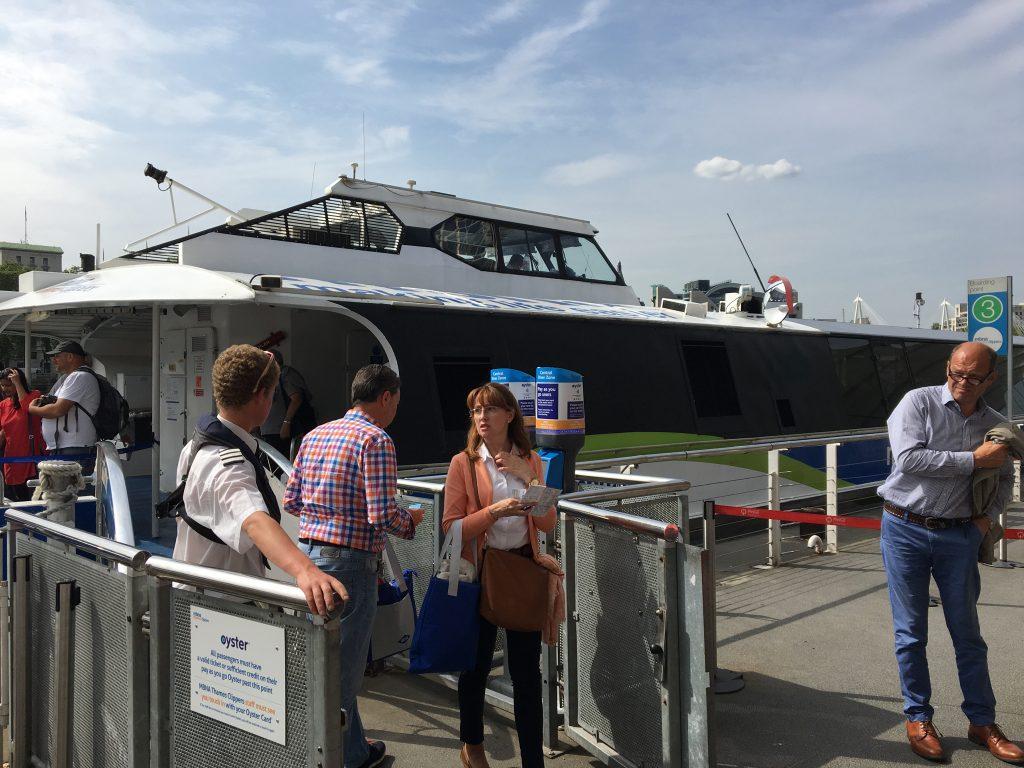 Londres - Paseo en barco