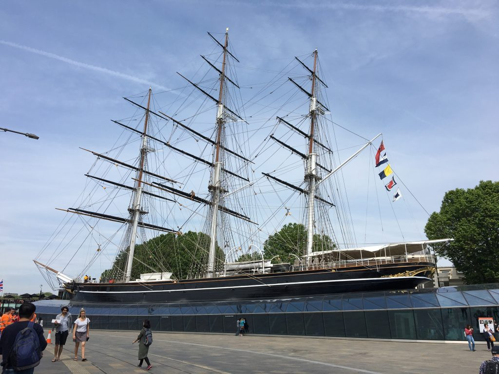 Londres - Cutty Sark, Greenwich