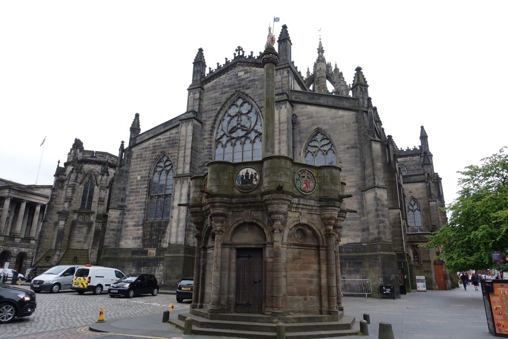 Mercat Cross de Edimburgo