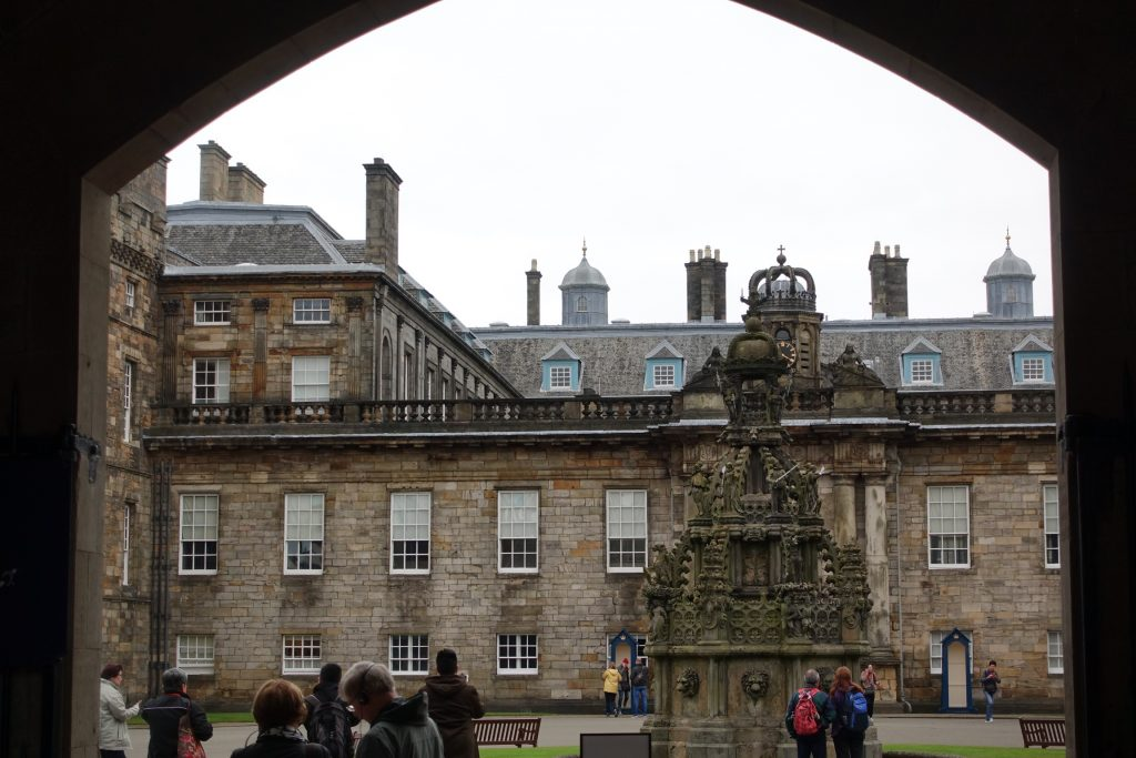 Edimburgo - Holyrood House