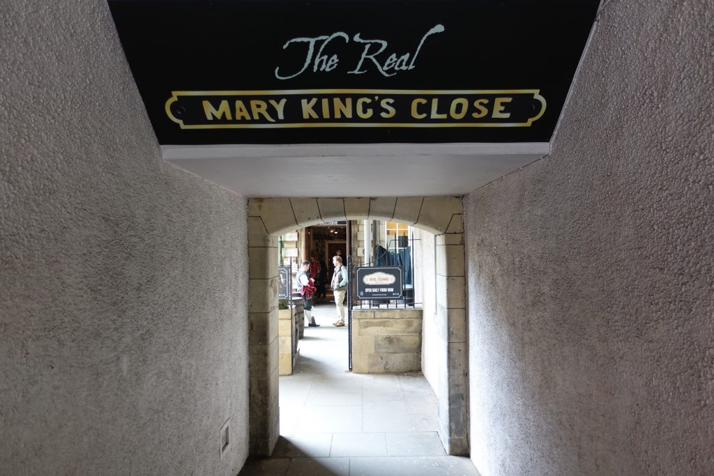 Edimburgo - Mary King's Close
