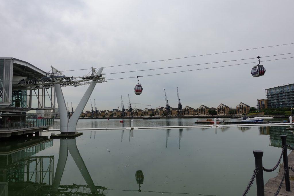 Londres - Funicular Emirates