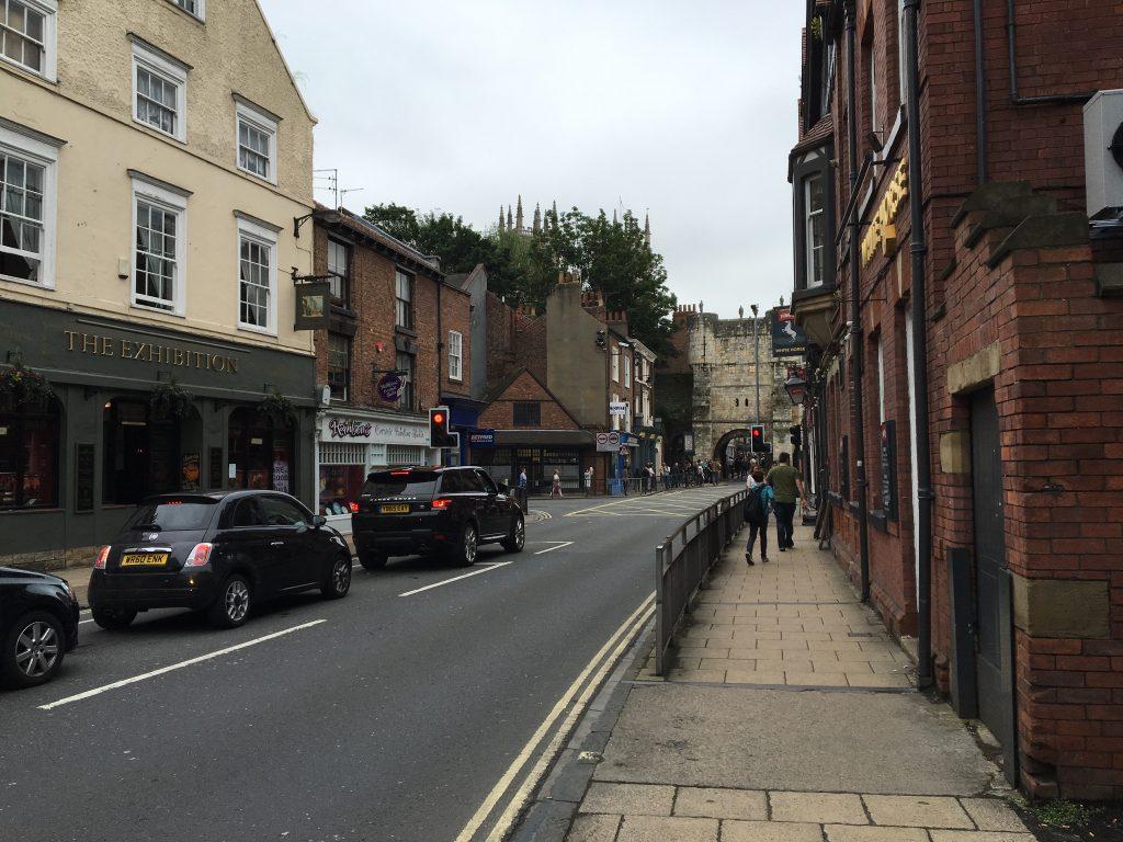 Ciudad medieval de Inglaterra